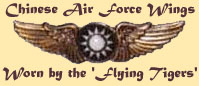 Chinese Air Force Wings